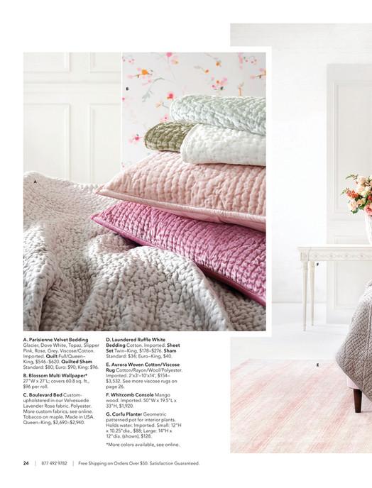 5392cdb5a7dc Annie Selke - Spring 2019 Catalog - Page 24-25